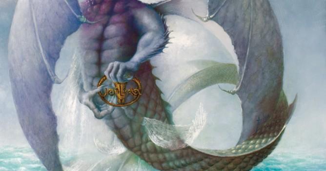 dragon des mers